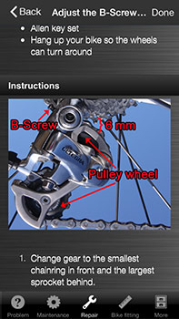 easy bike repair app