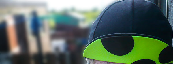 this is cambridge panache fluoro dots cap