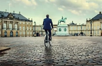 carlsberg bicycle advert