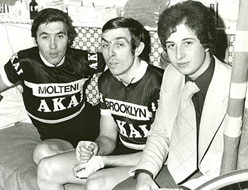 grant young with eddie merckx