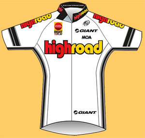 team high road jersey
