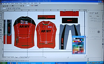 endura computer jersey display