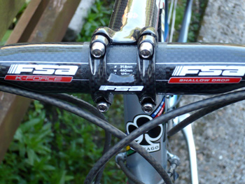 fsa k-force bars and stem