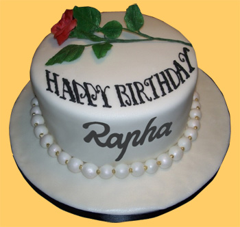 rapha birthday cake