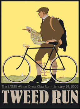 tweed run poster
