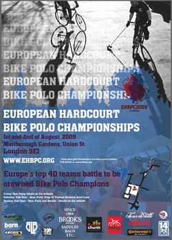 bicycle polo poster