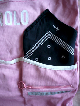 rapha silk scarf