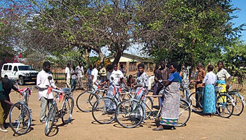 bicycle in malawi