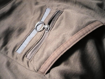 portland zipped pocket