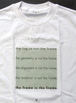 sachs the frame t-shirt