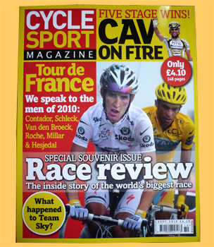 cyclesport september 2010