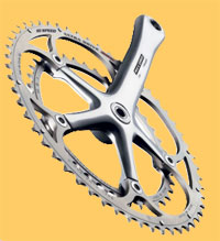 record alloy crank