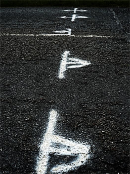 islay road markings