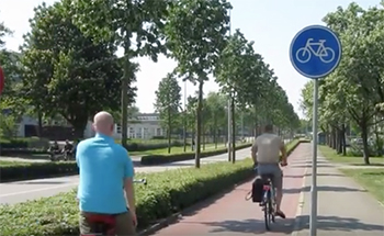 dutch cycle paths