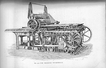 wharfedale reliance printing press