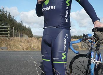 endura movistar replica team kit