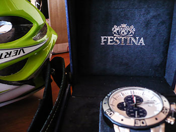 festina tour of britain chronograph