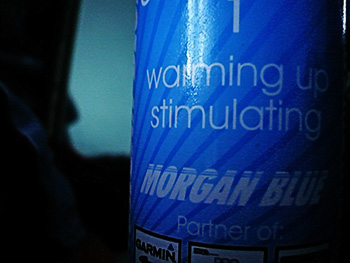 morgan blue warming oil
