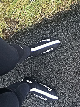 air tunnel overshoes