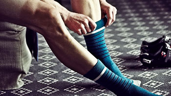 rapha city socks morroccan blue