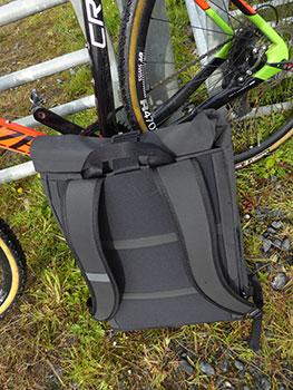 rapha roll-top backpack