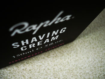 rapha shaving foam