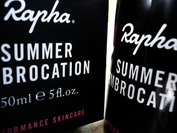 rapha summer embrocation