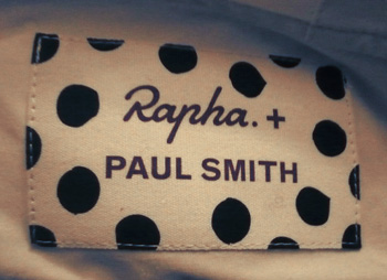 rapha + paul smith windshirt