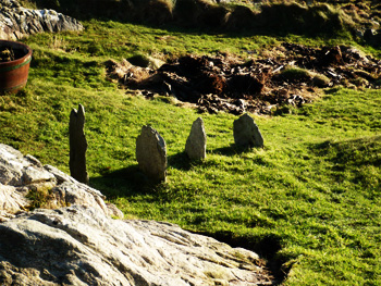 the standing stones of port wemyss
