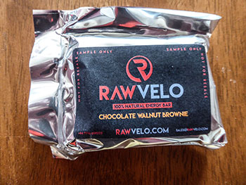 rawvelo chocolate brownie