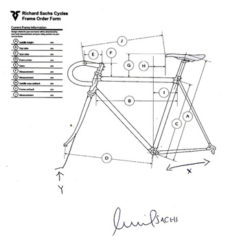 richard sachs frame schematic