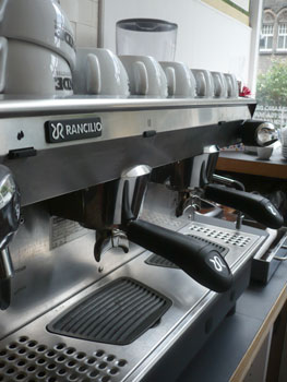 rancillio coffee machine