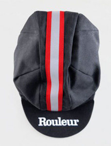 rouleur red cap