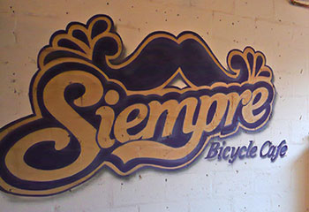 siempre cycle cafe, glasgow