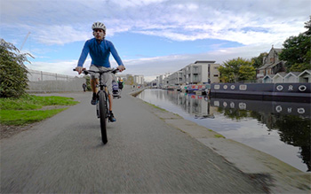 mark beaumont and sustrans