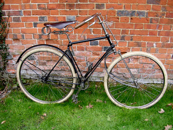 1890s victor spring fork safety bicycle