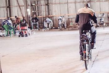 world bicycle relief mechanic training
