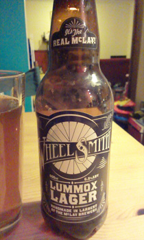 lummox lager bottle